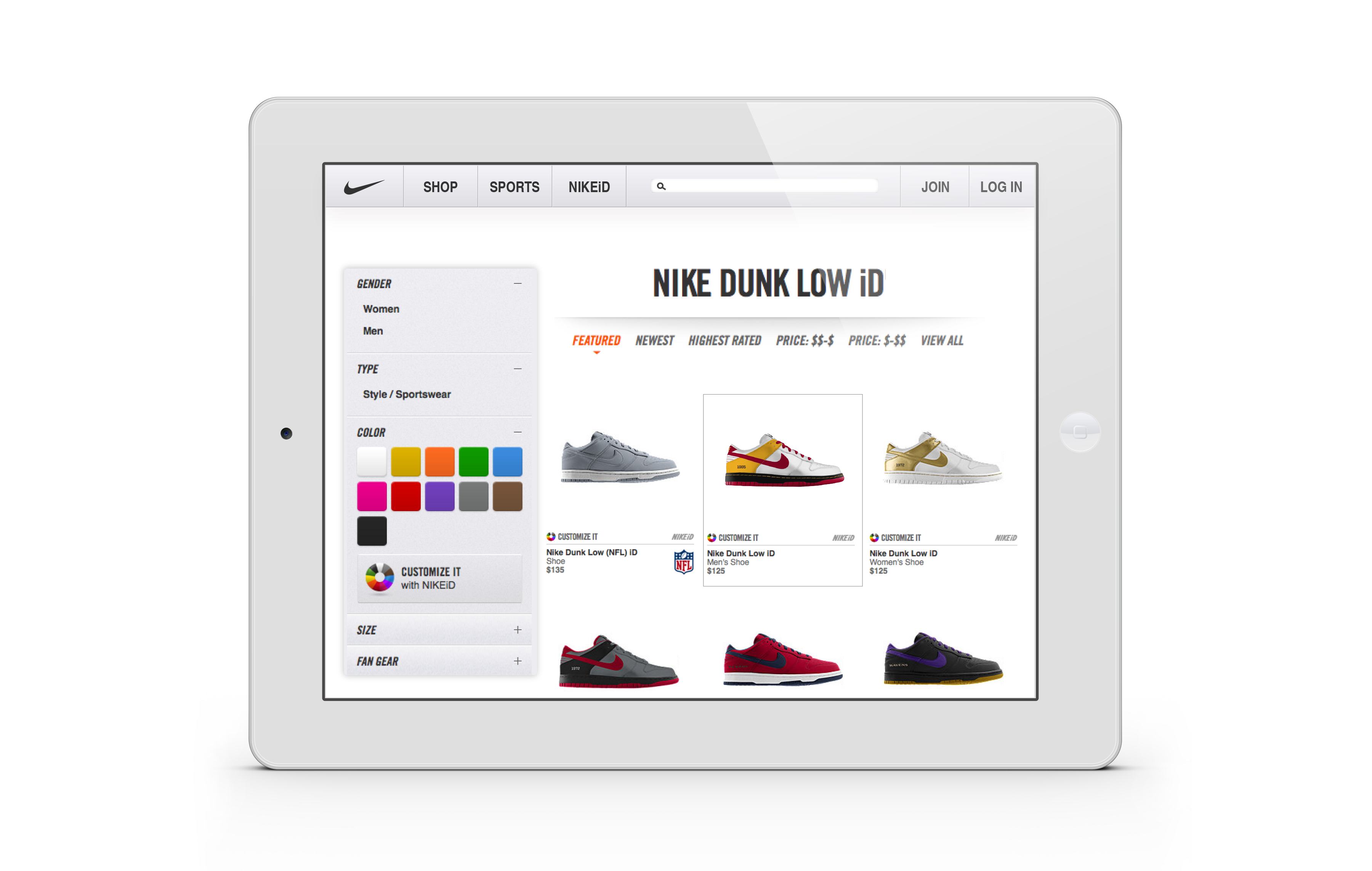 Jul 05,  · The service is also available in the NIKE iD area in many Nike retail stores, where consumers can check the materials in person and get advice from Nike representatives. A slightly higher premium price is charged in that case, and consumers can receive the product in four weeks.
